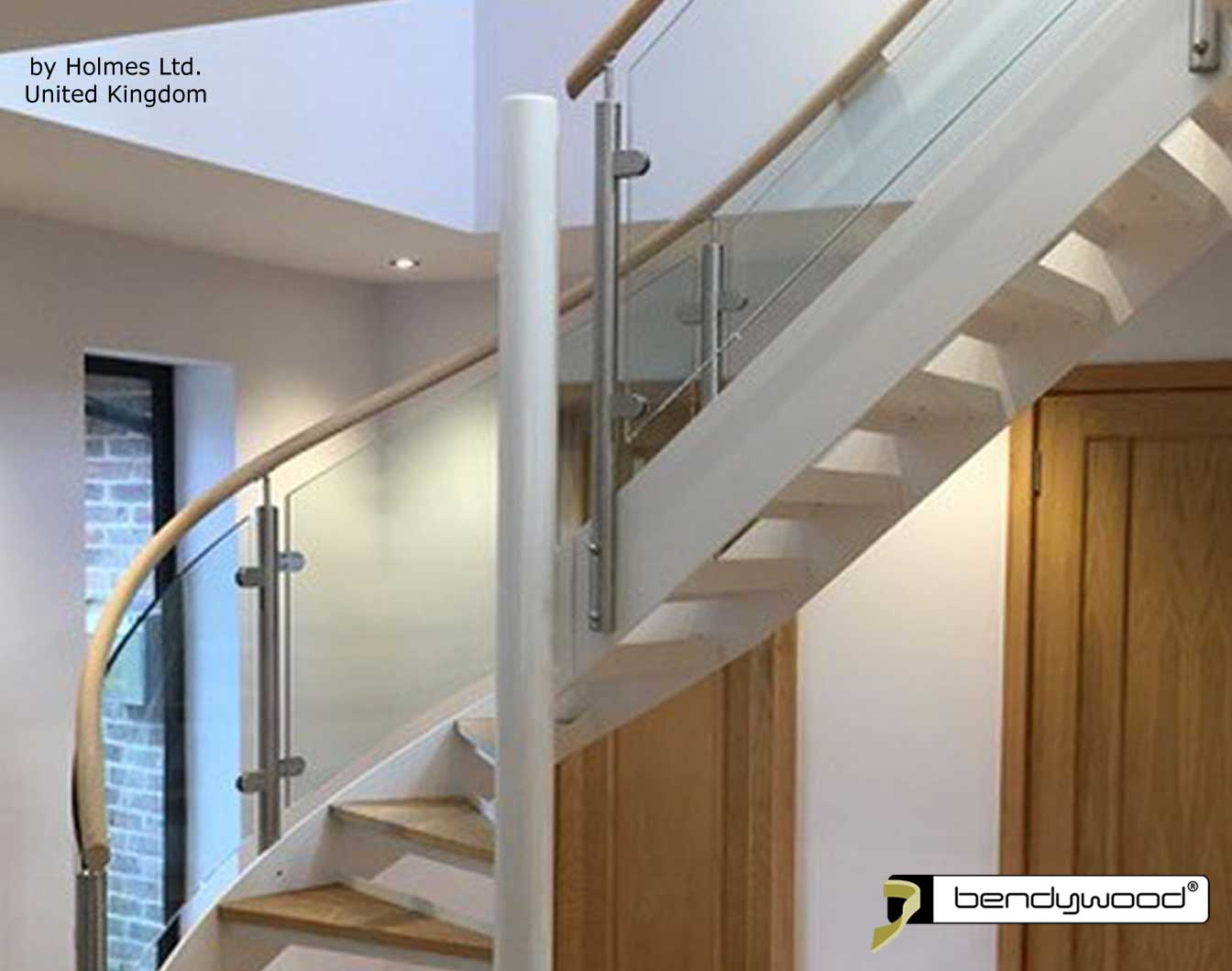 Flexible wood Bendywood® - handrail